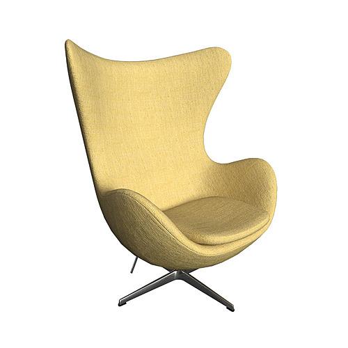 Myty - 3D Model | Egg chair by Republic of Fritz Hansen