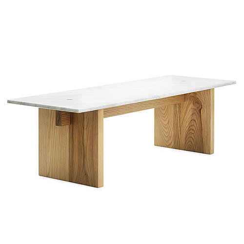 Myty - 3D Model | Solid table by Normann Copenhagen