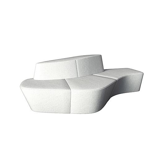 Myty - 3D Model | Polar modular by Tacchini
