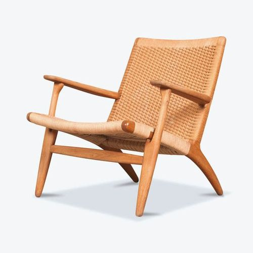 Myty - Furniture | CH25 Lounge Chair by Hans  Wegner
