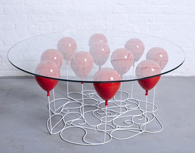 Myty - Furniture | The UP Balloon Table by Name Surname