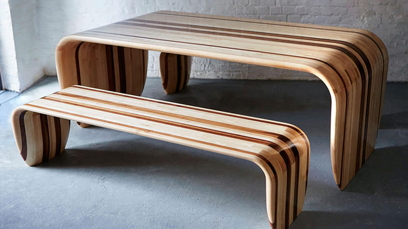 Myty - Furniture | Surf-Ace Table by Name Surname