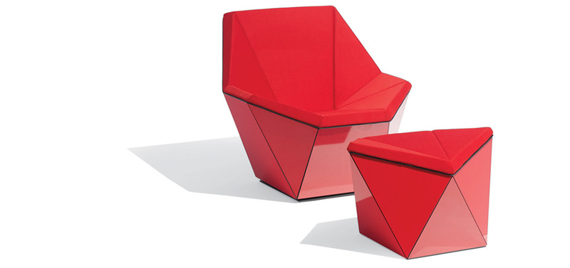 Myty - Furniture | Washington Prism™ Lounge Chair by David Adjaye