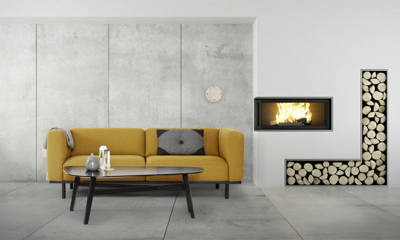 Myty - Inspiration   Beautiful Scandinavian Living Room by Name Surname