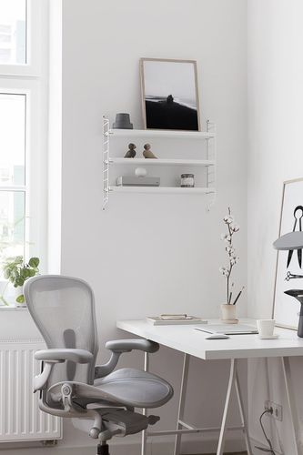 Myty - Inspiration | White Home Office  by Don Chadwick