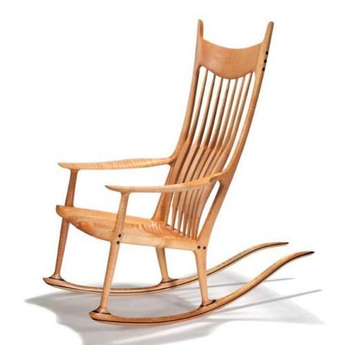 Myty - Furniture   Rocking Chiar  by Sam  Maloof