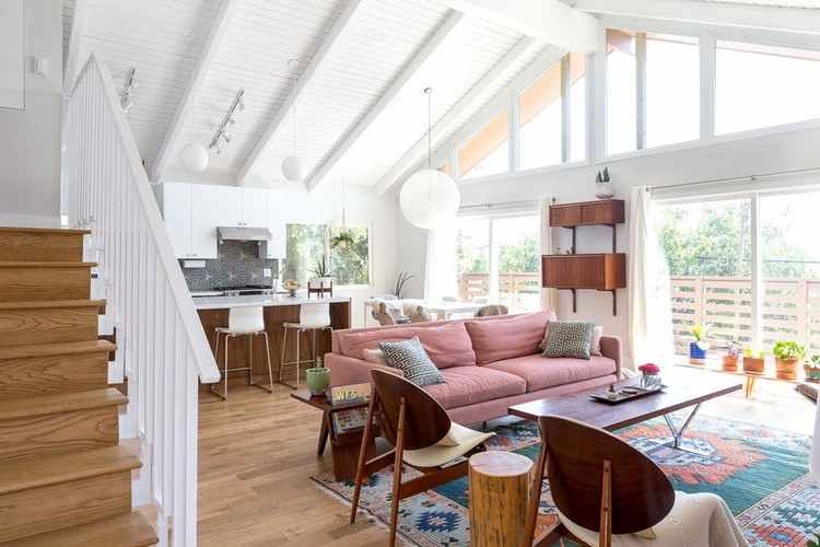 Myty - Inspiration | Pink and midcentury is a great combo de Myty